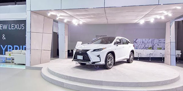 Lexus @ Dubai Motor Show